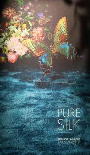 Butterfly pure silk